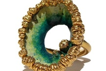 Jewellery - Rings - Green / by Iram Kotia