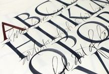 - calligraphy / by Byon Gan