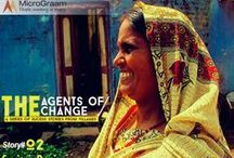 Agents of Change / Women in rural India are really changing the India for good. Here is #MicroGraam's series of stories honoring the hard work and dedication of such women.