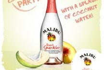 The Malibu Family / The Malibu® Rum family is big, bright and colorful! Enjoy each flavor variety for different occasions and have fun mixing fun, unique cocktails!