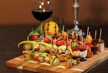Pintxos / A collection of my favorite Skewered appetizer.