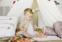 Baby teepees