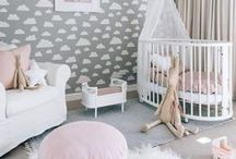 BABY NURSERY INSPIRATION / Inspiration for baby girl's nursery!