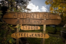 """Adventure of Småland / Das Tourist-Camp """" Adventure of Småland"""" in Långö-Tomteholm ist eine Anlaufstation für Feriengäste die Abseits des Massentourismus die Schönheit der Natur in Schweden- Småland auf eine aktive Art erleben möchten."""