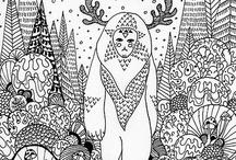 Moiré Doodles