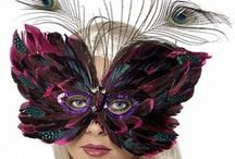 Masquerade Eye Masks / What is it about Masquerade Masks that we find so hard to resist? Perhaps it is the feeling of freedom that comes with being incognito, the air of mystery that surrounds you when you wear these really lovely masquerade masks. For more Masquerade Masks visit us at www.partyworld.ie