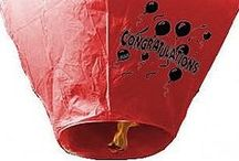 Sky Lanterns / Sky lanterns are the latest big thing in celebrating special occasions.