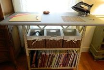 Creative Spaces / Sewing and craft room ideas