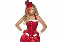 ladies christmas costumes / From Miss Santa Costumes to cheeky Elf Costumes all our womens christmas costumes are gorgeous! We have a wonderful range of Santa Costumes for the girls.