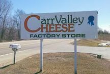 Carr Valley Cheese Factory and Store Locations / Come on over and visit us at any of our 8 Carr Valley Cheese Factory and Retail Store locations! For more information, please visit our website at www.carrvalleycheese.com