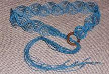 Macramè Belts