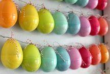 Velikonoční nástěnka / Nalaďte se s dětmi na jaro...