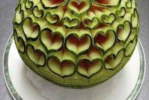 Frutas / Uvas y morados