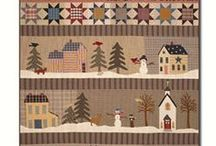 Sampler & Row Quilts