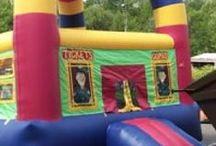 Bouncing Around / Make your next party or event a huge hit with our fun bounce house inflatables! The kids will thank you for it!