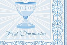 First Communion Decorations and Party Supplies / First Communion Decorations and Party Supplies