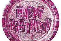 Pretty Pink Party Supplies & Decorations / All Things Pink for that perfect Pink Birthday Party