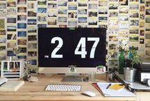HD_Home Office / Ideias de decoração no escritório