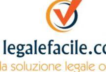 Legalefacile.com / Ecco Legalefacile.com, il portale che illustra i servizi di contrattonline, ereditaonline e societarionline!