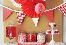 Red Party Ideas | Party Supplies / Add some colour to the party with our Red Partyware ideas and decorate your venue in style with these Fabulous Party Supplies.