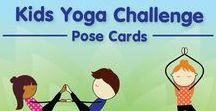 The Kids Yoga Challenge Pose Cards / The Kids Yoga Challenge Pose Cards will challenge you and your kids with balance, flexibility, mindfulness, and more.  This card deck includes 40 yoga poses including partner poses, confidence building pose mantras, and fun games to play together using these cards.  Poses rated from 1-5 stars based on difficulty.  · Easy to follow poses  · 15 Bonus Games to play using these cards  · Tested and proven yoga poses to bring most mental and physical benefit. http://www.gogoyogakids.com/store/#cards