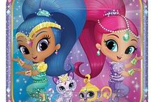 Shimmer and Shine Party Supplies / Your little one and her friends will love hanging out with Shimmer and Shine for a magical celebration. Transform your home into a land that is fun filled with wonder and magic carpet rides. A party in Zahramay Falls is just a wish away thanks to Shimmer and Shine party supplies. No need to summon genies we got you covered with party supplies that only you could wish for. Decorate your next birthday party or celebration in genie fashion with the help of some fabulous party supplies!