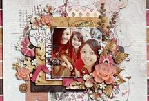 Scrapbook single layouts / Inspiration, things to try, great ideas, your work, projects found on the web