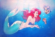 Disney & similar Stuff / #disney #nondisney #disneyprincess #ariel #frozen ##princess / by Sumi Somby