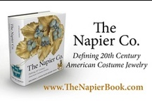 The Napier Co., Book / Beautiful pieces of Napier Costume Jewelry from the author of the 1000 page visual encyclopedia, The Napier Co.: Defining 20th Century American Costume Jewelry.