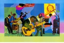 """ROMARE BEARDEN"" Inspired Projects / by florence cometz"