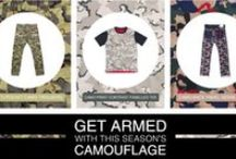 Get armed with EVISU's Camouflage