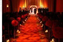 Cerimônia em Vermelho