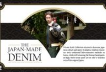 Discover the Japan-made EVISU Denim Collection / by EVISU official