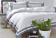 Bed Linen and Throws / Make your bedroom beautiful with sumptuous bed linen.  Bedrooms