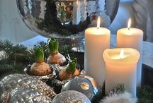 Winter decorations, christmas, new year...