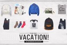Heat up your journey with EVISU's cozy sets! / Plan your vacation now!