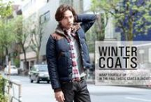 Time to COAT UP! / Wrap yourself up in the fall-tastic coats & jackets! / by EVISU official