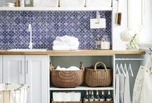 Laundry & Mudroom / Decorating and organization ideas for laundry rooms and mudrooms.