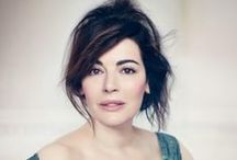 Nigella Lawson / My Favourite Food designer!! I love her and all her recipes.
