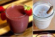 Smoothie Recipes / Delicious easy smoothie recipes