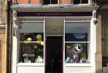 Edinburgh / Capital city and the home of our first mainland shop. Always plenty to do and see, especially in August.