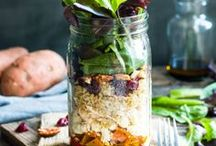 Appealing salads and dressings