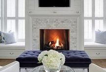 Fireplaces & Mantels / How to decorate fireplaces and mantels