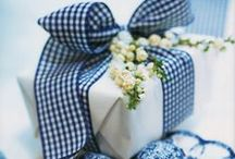 Giftwrap & Tags / Pretty gift wrapping ideas.  If it's the thought that counts, put some effort into how to wrap a gift.  Pretty paper and ribbons make a difference.