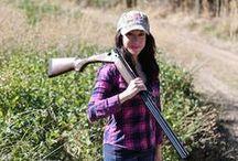 Hunting Hunnies / Ladies like hunting too.