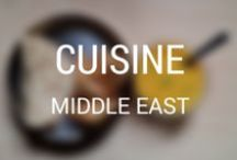 World Cuisine: Middle East / For those who can't travel all year long, a board full of inspiration to experience the local cuisine without leaving your home.