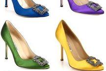 Favorite Shoes / Evening Shoes, High Heels, Glam,  Manolo Blahnik, Gucci, Betsy Johnson, Guiseppe Zanotti, Badgley Mischka, Marchesa, Christian Louboutin