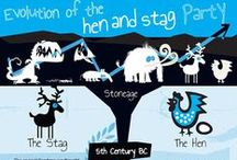 Stag & Hen History, Data & Ideas / A little background info for you. Plus stats on travel, costs & planning, and infographics to help save you time & money - for your Stag or Hen event and wedding too... Also see our Directory on StagsandHens.com