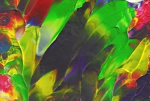 abstract paintings / by Selina Deng