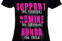Cancer Awareness Shirts / Have you received one of our fliers? If not, please contact us to hear about a GREAT promotion we have going through October. Until then, Enjoy these great shirt ideas...